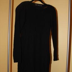 Zara Long-Sleeve Mini Dress